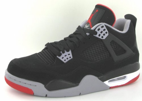 Air Jordan 4 Retro 'Bred 2012 Release' - 308497-089 - Size 9 -