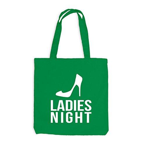 Jutebeutel - Ladies Night - Junggesellenabschied JGA Kellygrün