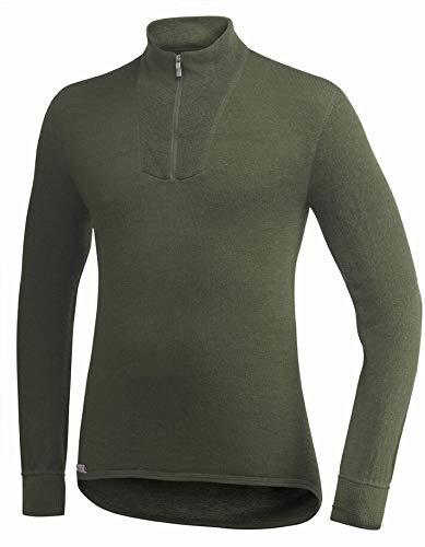 Woolpower 200 Turtleneck Long Sleeve Zipp Shirt Men - Unterwäsche -