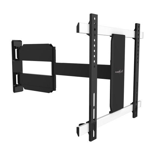 """PureMounts TV Wandhalterung PM-Slimflex-52 – neigbar, schwenkbar, flach, ultraslim für Fernseher bis 132cm / 52"""" Zoll / VESA400"""
