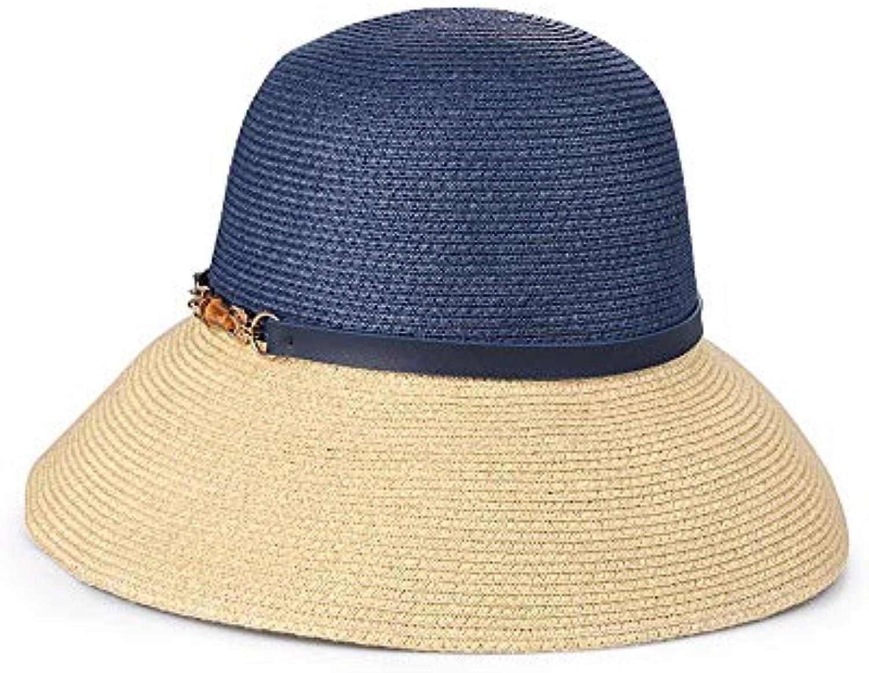 Cappello di da paglia Cappello da di donna pieghevole floppy da donna  Visiera Shopping Spiaggia da 95de8539759a