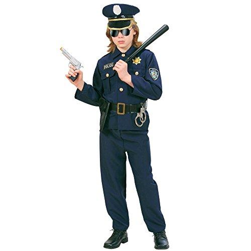 Imagen de widman  disfraz de policía para niño, talla 8  10 años 73167  alternativa