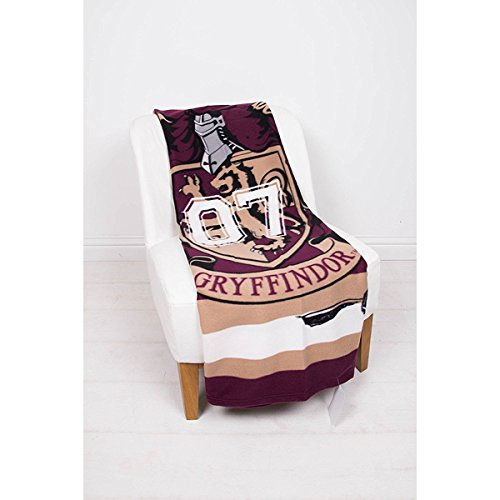 Harry Potter Muggles' Fleece Blanket - Large Print Design