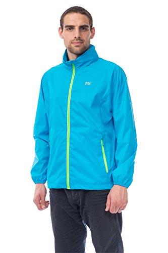 Mac in a Sac Neon Unisex Wasserdicht Packbare Jacke (, ) Neonblau