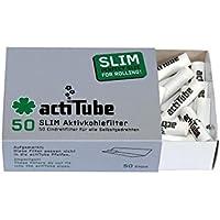 Tune Slim - Filtro ai carboni attivi, 7,1 mm, 50 pezzi Filtro ai carboni attivi