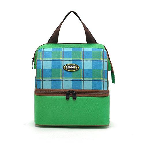 HYSENM 9L Isoliertasche Lunch Tasche Cooler Bag für Babynahrung Camping tägliches Gebrauch