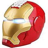 Avenger Super Hero Iron Man Piggy Bank Automatic Open Door Motor Head ATM, Coin Bank Save Money Box