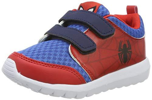 Spiderman Jungen 2300002953 Sneaker, Rot/Blau, 29 EU