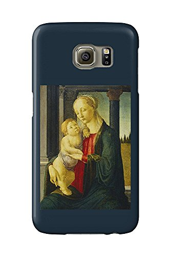 Madonna and Child - Masterpiece Classic - Artist: Sandro Botticelli c. 1470 (Galaxy S6 Cell Phone Case, Slim Barely There) -