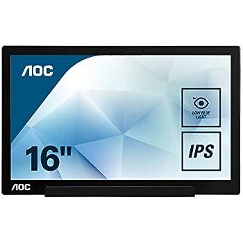 style à la mode style classique de 2019 100% de qualité supérieure AOC I1601FWUX Écran Plat de PC 39,6 cm (15.6