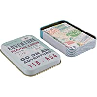 Adventure Awaits Playing Cards in a Tin