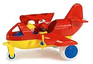 Viking Toys 1270 - Avión de plástico con 2 Figuras, 30 cm
