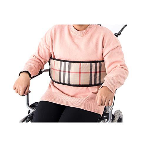 QEES Rollstuhl-Sicherheitsgurt, verstellbarer weicher Gurt, Rollstuhl-Sicherheitsgurt, Rollstuhl-Sicherheitsgurt, Zubehör, Rollstuhl & Bett-Zubehör ZYH103