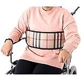 QEES ZYH103 - Cinturón de seguridad para silla de ruedas, cinturón de cojín suave ajustable
