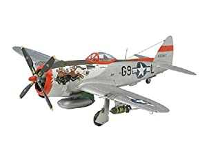 Revell P-47 D Thunderbolt 1:72 Assembly kit Fixed-wing aircraft - maquetas de aeronaves (1:72, Assembly kit, Fixed-wing aircraft, Republic P-47 Thunderbolt, Military aircraft, De plástico)