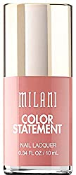 Pink Beige : Milani Color Statement Nail Lacquer, Pink Beige, 0.34 Fluid Ounce