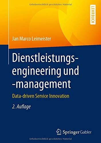 Dienstleistungsengineering und -management: Data-driven Service Innovation