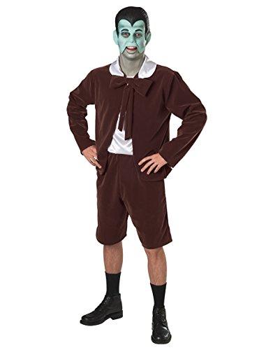 Die Munsters Eddie Munster Kostüm-Set, Standard, Brust 111.76 cm, Taille 86.36 30 cm 83.82 cm; Innennaht