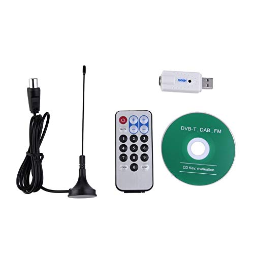 Heiße neue USB DVB-T RTL-SDR Realtek RTL2832U & R820T Tuner Empfänger Dongle PAL IEC Input Promotion Avi Ipod Mp4