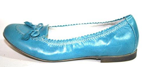 Miúdos Azul 7761 Menina Cherie Sapatas Caixa sem Dos Bailarinas 6qFq1EwxZ