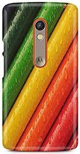 Sand Dunes Designer Printed Hard Back Case cover for Motorola Moto Xplay