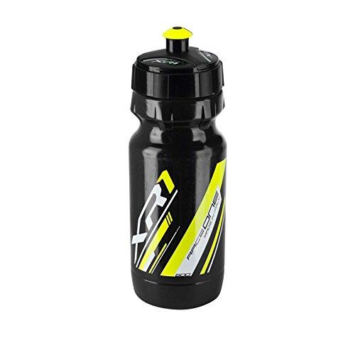RaceOne XR1 3313nam Gourde anti-microbes homologuée pour vélo Noir/jaune