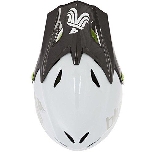 bluegrass Explicit Helm white/black/green Kopfumfang 58-60 Fullface Helm - 2
