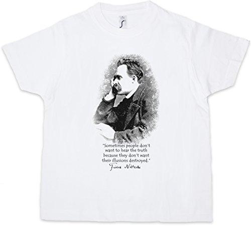 Friedrich Nietzsche Illusions Kids Boys T-Shirt