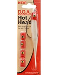D.O.A. Hot Head/ Red - Hot Head 5 Pack Red