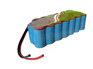 24 Volt NiMH - Ebike rechargeable battery 5000mAh for Ebikes (Yamaha, Kynast, Bocas) no memoryeffect for do-it-yourself installation