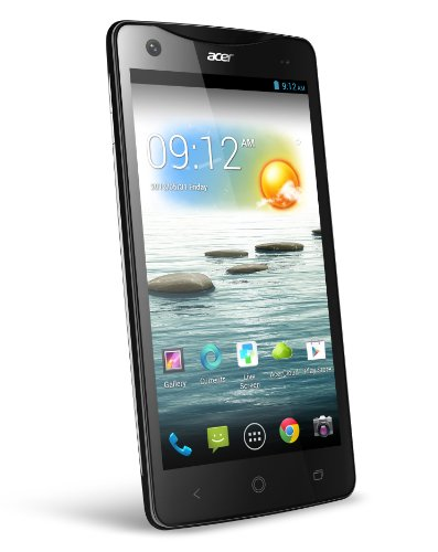 Acer Liquid S1 Smartphone (14,5 cm (5,7 Zoll) Touchscreen, Cortex A7, Quad-Core, 1,5GHz, 1GB RAM, 8 Megapixel Kamera, Dual-SIM, Android 4.2) (Handy Entsperren Android)