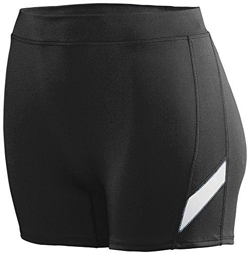 Augusta - Short de sport - Femme Multicolore - Noir/Blanc