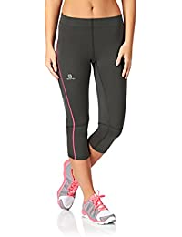 Salomon - Corsaire Agile 3/4 Tight W gris rose -