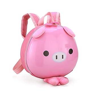 Children's Shoulder Animal Backpack Kindergarten Bag Small Class Boy Girl Cartoon Egg Shell Small Pink Pig 24 * 6 * 22