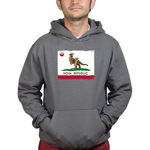 Customised Perfection California Hoth Republic Kapuzenpullover