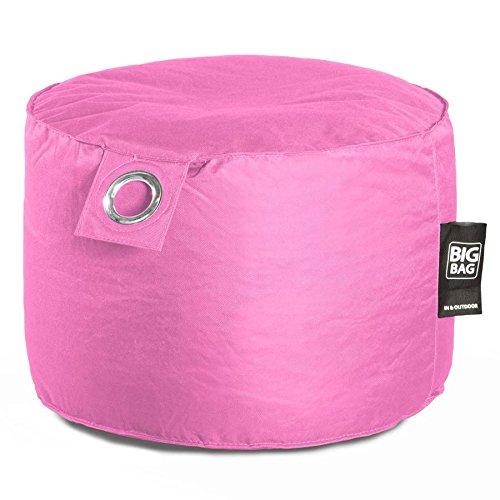 Megabag Sitzsack rund Außen Innen Deko Multicolor Mikrokügelchen anthrazit, blau, rosa, Taupe,...