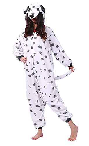 SAMGU Unisex Erwachsene Animal Onesie Pyjamas Hund Tier Cosplay Party Kostüme - Party Animal Kostüm Hunde