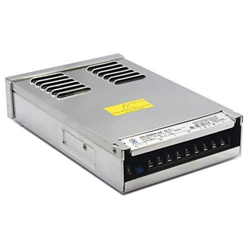 LED-Netzteil Transformatoren 350W Aluminium 24V, IP55, Natürliche Kühlung,brummfrei, laststabil, mit Kabelstecker, 3 Jahre Garantie
