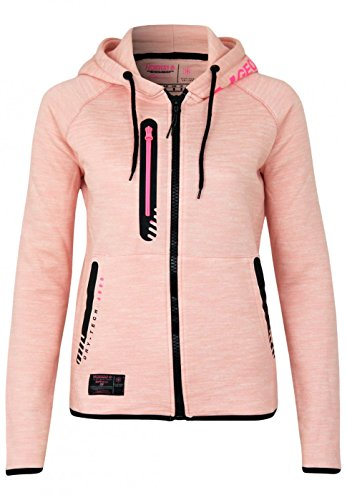 Geographical Norway veste Galipette femme pink