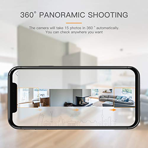 Zoom IMG-3 apeman 1080p telecamera sorveglianza wifi