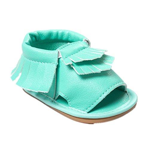 Baby Schuhe Auxma Baby Jungen Mädchen Frühling Sommer Schuhe Mode Sandalen Für 3-18 Monate (3-6 M, Weiß) Grün