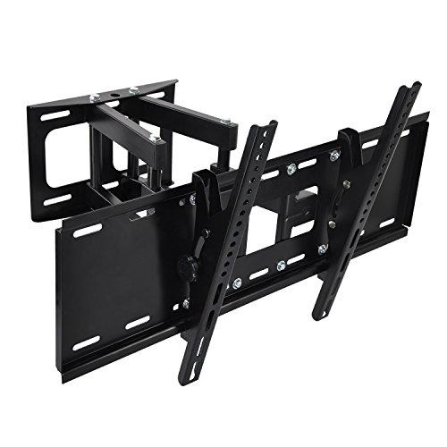 TV Wandhalterung Universal für 40-70 Zoll (ca. 101-178cm) Schwenkbar Neigbar Wand Halter Aufhängung Fernseh Halterung auch für Curved LCD und LED Fernseher | VESA 400x400 400x600 bis 70KG (Vizio 40-zoll-led-tv)