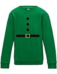 Direct 23 Ltd Santa & Elf Kids Sweatshirt