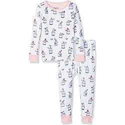 Hatley Girl Organic Cotton Long Sleeve Printed Pyjama Sets Free Birds, 12 Years