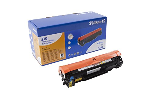 Pelikan Toner 4283863 ersetzt HP CE278A und Canon CRG726 , CRG728 BK (für Drucker HP LaserJet Pro P1566, P1606dn, M1536DNF, Canon i-SENSYS LBP6200D, MF4410, MF4430, MF4450, MF4570D) schwarz