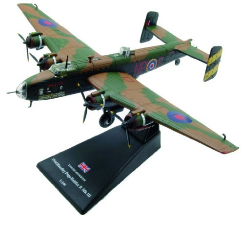 handley-page-halifax-diecast-1144-model-amercom-lb-10