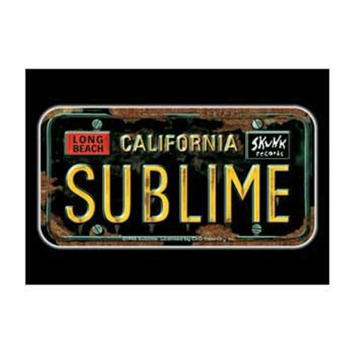 Preisvergleich Produktbild Old Glory Sublime License Plate Postkarte Home Décor