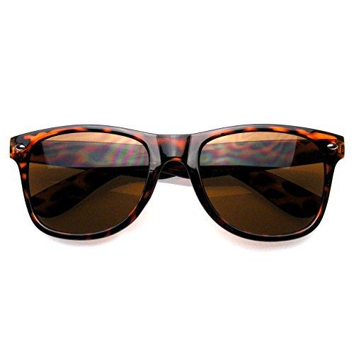 Premium Horn Umrandeten Style Sonnenbrille (Braune Schildkröte) (Vintage Horn Umrandeten Sonnenbrille)