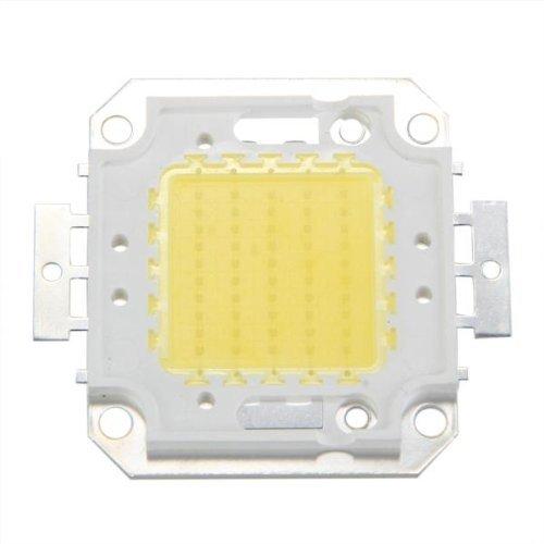 SODIAL(R) 50W 3800LM 6500K DC32-34v Bombilla LED Lampara DIY Chip Luz Color Blanco
