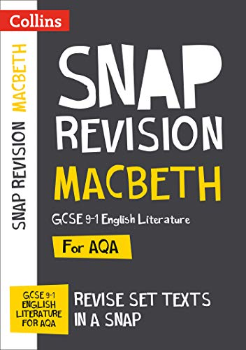 Ace-snap (Macbeth: New Grade 9-1 GCSE English Literature AQA Text Guide: GCSE Grade 9-1 (Collins GCSE 9-1 Snap Revision))